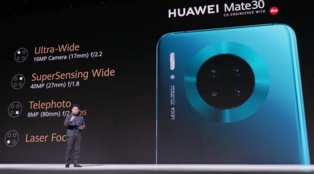 华为Mate 30发布 XXXX元起后置四摄环幕屏设计